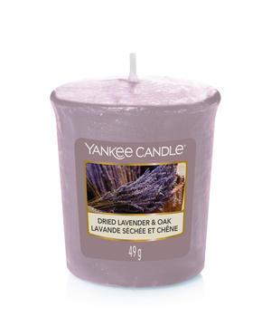 Dried Lavender & Oak, Votivljus / Samplers, Yankee Candle