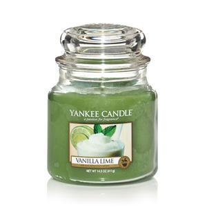 Vanilla Lime, Medium jar, Yankee Candle
