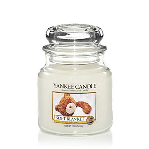 Soft Blanket, Medium Jar, Yankee Candle