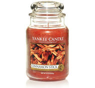 Cinnamon Stick, Large Jar, Yankee Candle