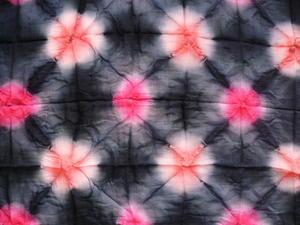 Tub Batik med stora punkter