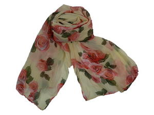 Chiffonscarves rosor