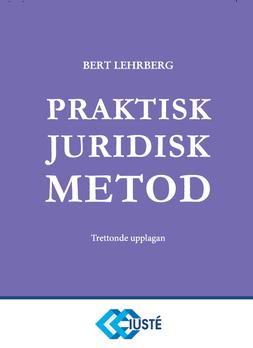 Praktisk juridisk metod 13 upplagan 26 mars 2021