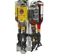 Flaskrondell för 4st flaskor vägg modell.