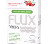 Flux Drops 30st Jordgubb/Rabarber