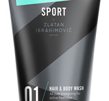Zlatan Sport Pour Homme Hair & Body Wash