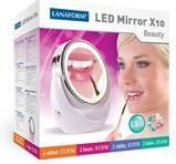 Lanaform Ansiktsvårdsspegel LED MIRROR X10