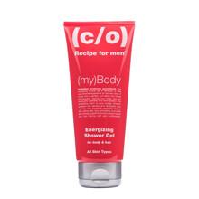 C/O Recipe For Men Energizing Shower Gel