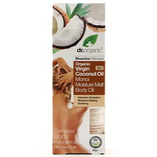 Dr Organic Virgin Coconut Oil Moisture Melt Body Oil 100ml