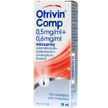 Otrivin® Comp 0,5mg/ml+0,6 mg/ml nässpray