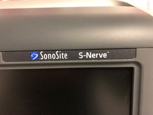 SonoSite S-nerve Ultraljud- Begagnad