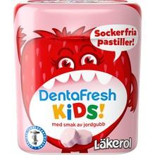 Läkerol DentaFresh Kids - Jordgubb