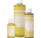 Dr. Bronner's Citrus PureCastile Liquid Soap 236ml EKO