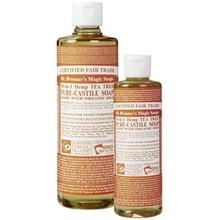 Dr. Bronner's Tea Tree PureCastile Liquid Soap 59ml EKO
