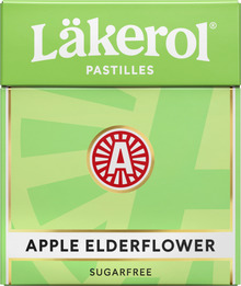 Läkerol Apple Elderflower