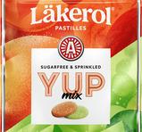 Läkerol YUP Mix - Strawberry Lime & Sour Peach