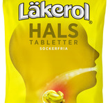 Läkerol Hals - Ingefära Citron