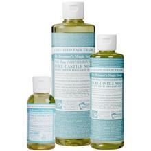 Dr. Bronner's Baby Unscented PureCastile Liquid Soap 59ml EKO