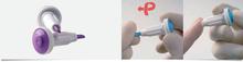Haemolance Plus säkerhets lansett Lila 1,6mm Blad