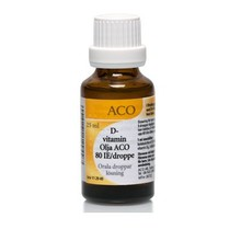 D-Vitamin Olja ACO 80 IE/droppe 25ml
