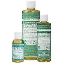 Dr. Bronner's Almond PureCastile Liquid Soap 59ml EKO