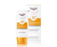 Eucerin Sun Sensitivity Cream Gel Face&Body SPF50+