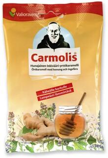 Carmolis Örtkaramell Ingefära/Honung