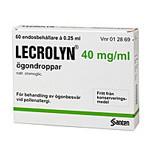 LECROLYN 40mg/ml 60X0,25ml pipetter