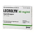 LECROLYN 40mg/ml 20X0,25ml pipetter