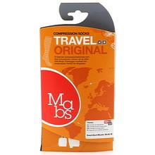 Mabs Travel resestrumpor svarta