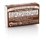 Dr. Bronner's Eucalyptus PureCastile Bar Soap140g EKO