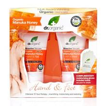 Dr Organic Hand- och Fotkrämskit Manuka Honey