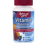 Active Care Vitaminbjörnar 60 tuggtabletter