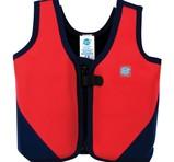 Splash About Flytande Simväst Learn To Swim Float Jacket Navy/Red