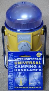 Campinglampa 955D4 4 st R20