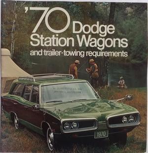 1970 Dodge Station Wagons Broschyr