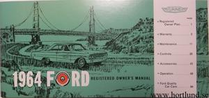 1964 Ford full size Owners Manual
