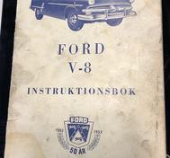 1953 Ford V-8 instruktionsbok, Svensk