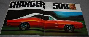 1970 Dodge Charger Broschyr