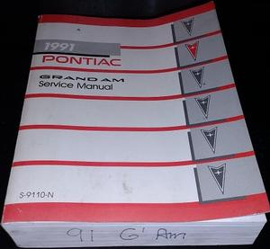 1991 Pontiac Grand Am Service Manual
