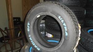 225/60R14 Ultra Radial GT med vita bokstäver