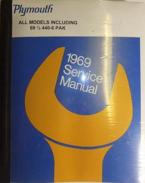 1969 Plymouth Service Manual