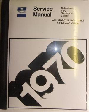 1970 Plymouth Service Manual