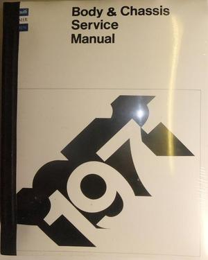 1971 Plymouth & Chrysler & Imperial Service Manual