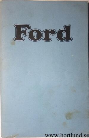 1974 Ford full size Owners Manual