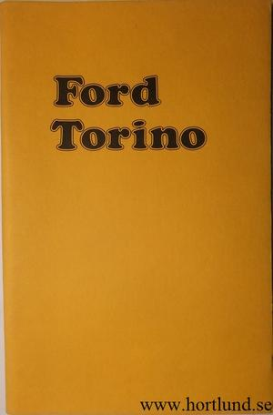1974 Ford Torino Owners Manual