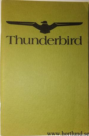 1974 Ford Thunderbird Owners Manual