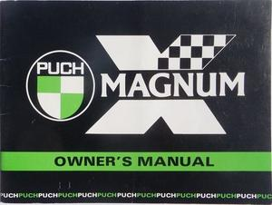 1978 1979 Puch Magnum X Moped Instruktionsbok
