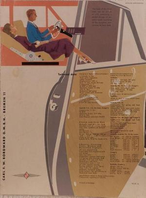 1957 Borgward Isabella broschyr