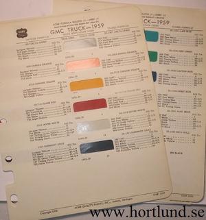 1959 GMC ACME lackkarta